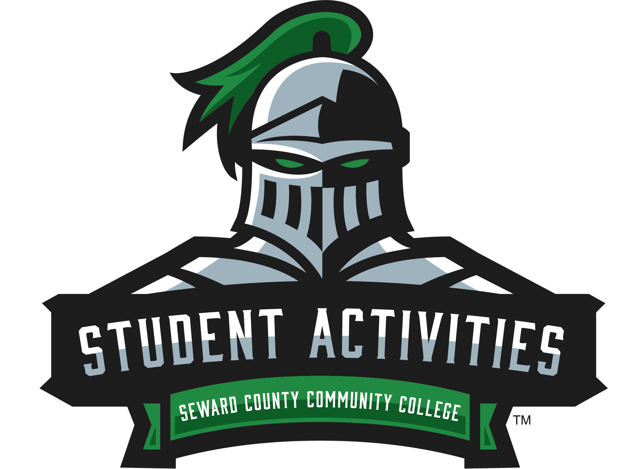 student activities logo. Louie the Saint